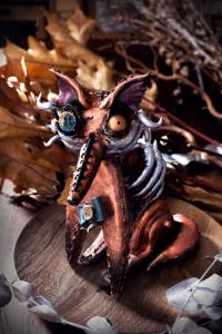 Le renard déglingué d'automne - sablé mélasse et cannelle ©Photographie et stylisme culinaire Qui a volé les tartes ?