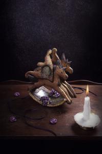 Les petits chevaux de bois & la boîte à rêves  ©Photographie et stylisme culinaire Qui a volé les tartes ?