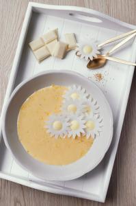 Crème chocolat blanc & zestes de citron ©Photographie et stylisme culinaire Qui a volé les tartes ?