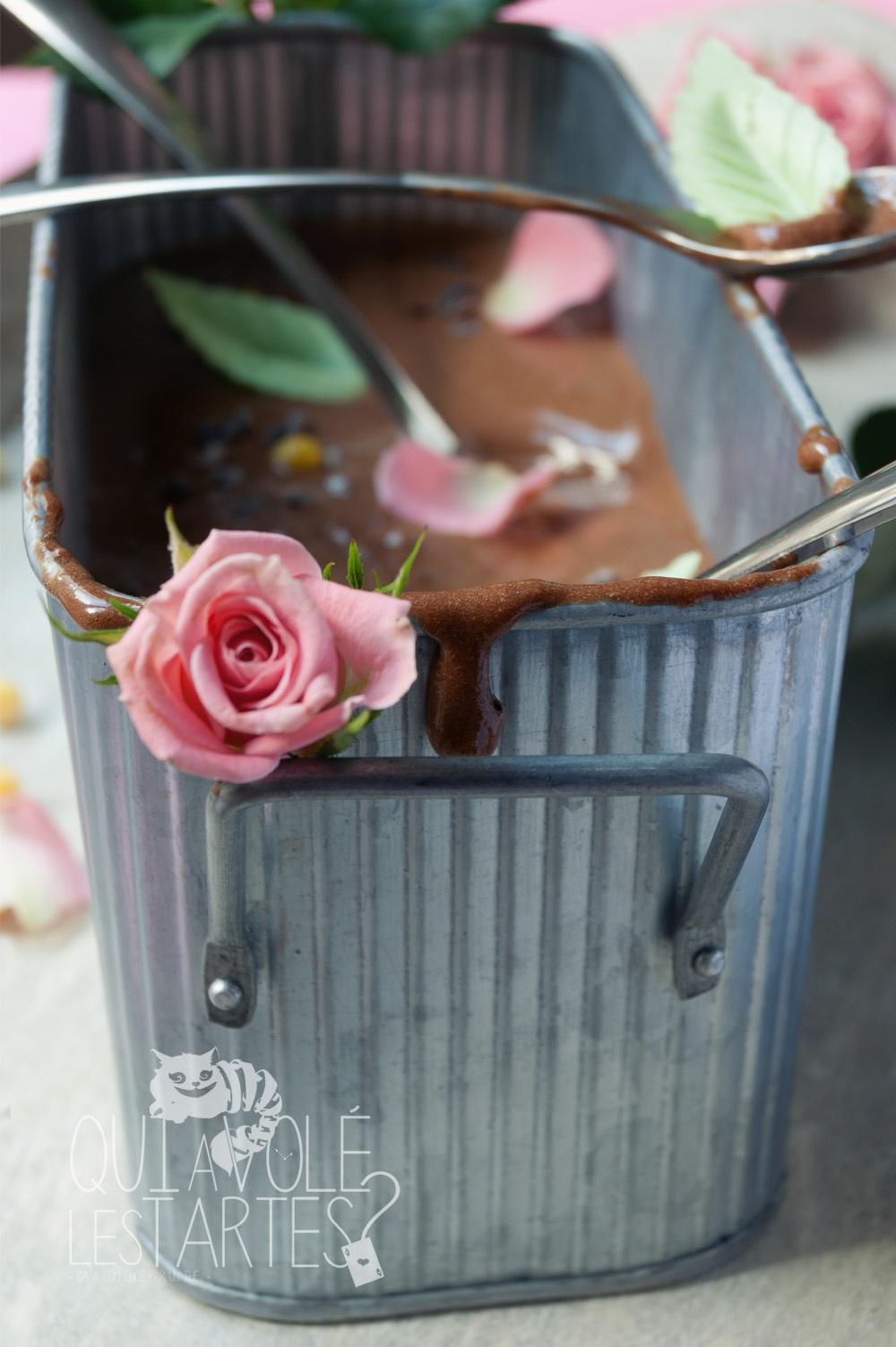 La jardinière 5 - Mousse au chocolat - Qui a volé les tartes - Studio de création