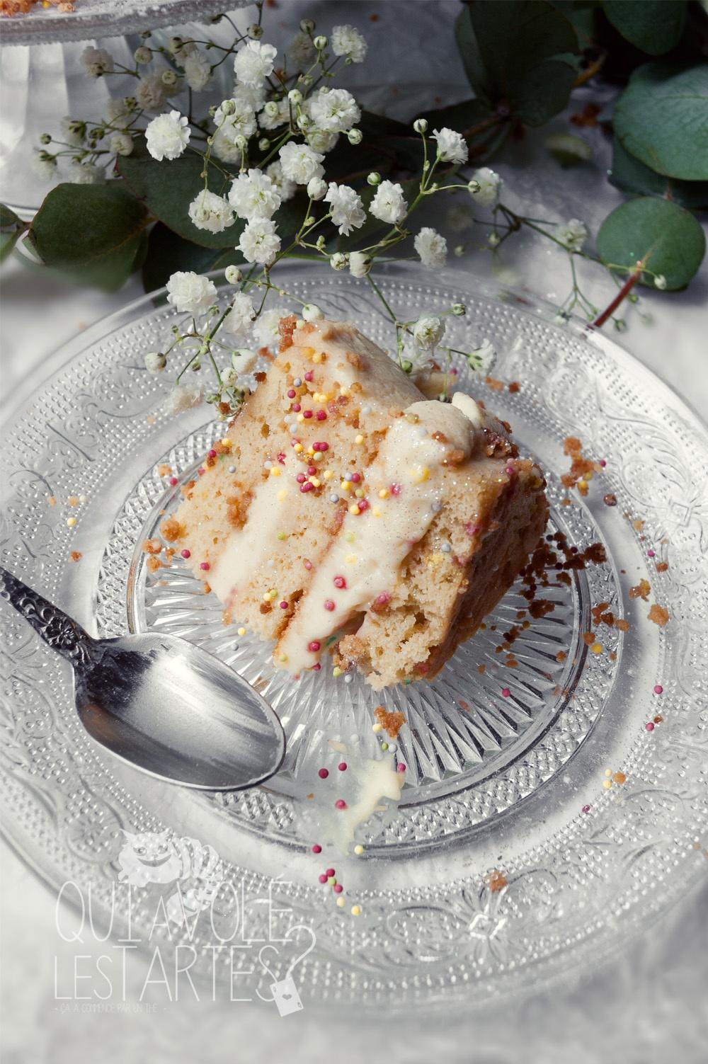 Le lapin blanc 2 - entremet vanille chocolat blanc - Studio 2 création - Qui a volé les tartes