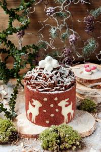 Mont-Blanc revisité façon charlotte sans gluten ©Photographie et stylisme culinaire Qui a volé les tartes ?