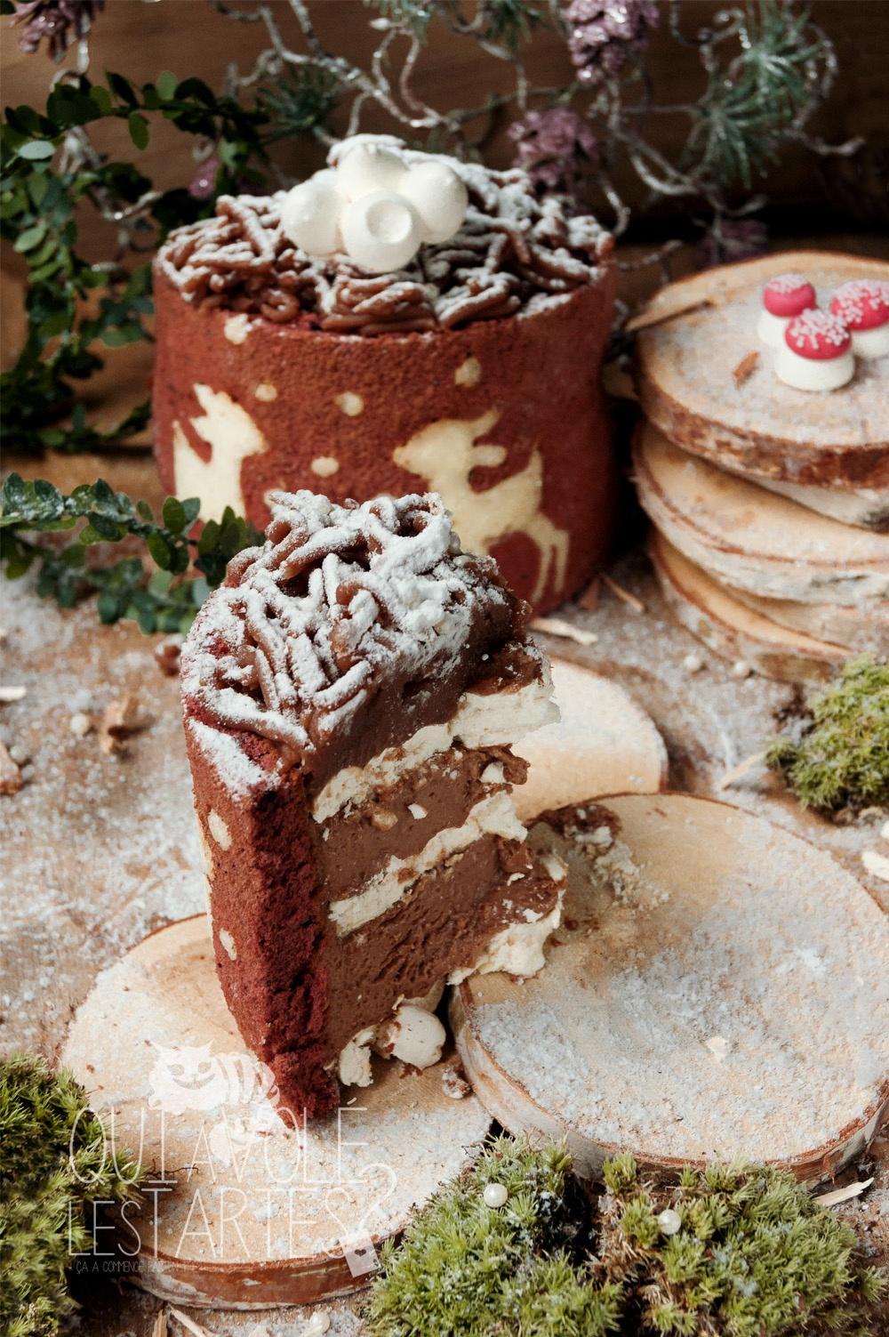 Mont-Blanc Noël sans gluten 4 - Studio 2 création - Qui a volé les tartes