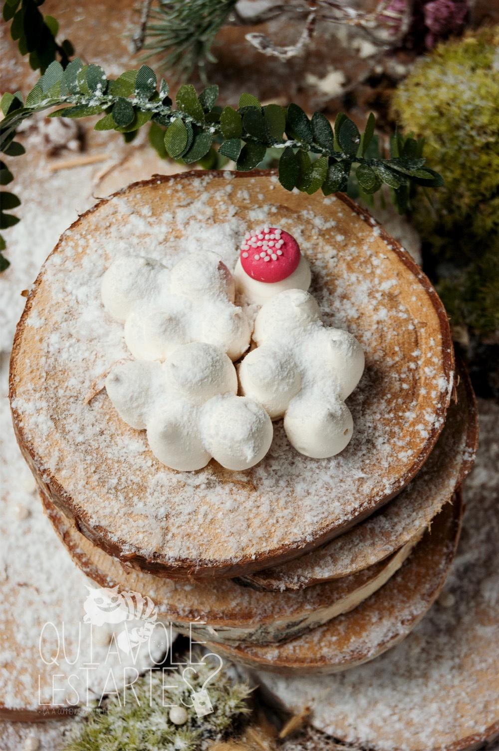 Mont-Blanc Noël sans gluten 5 - Studio 2 création - Qui a volé les tartes