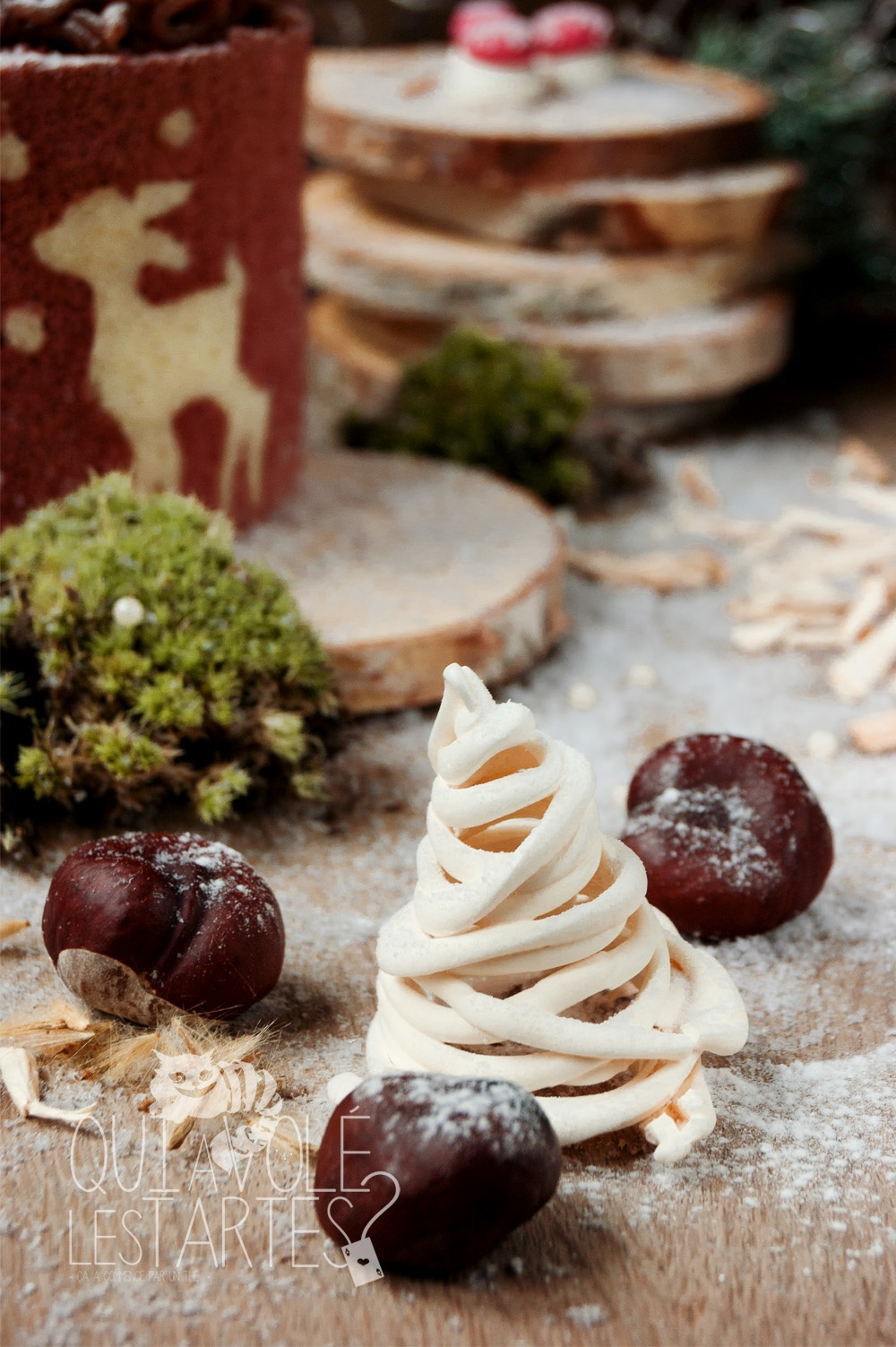 Mont-Blanc Noël sans gluten 6 - Studio 2 création - Qui a volé les tartes