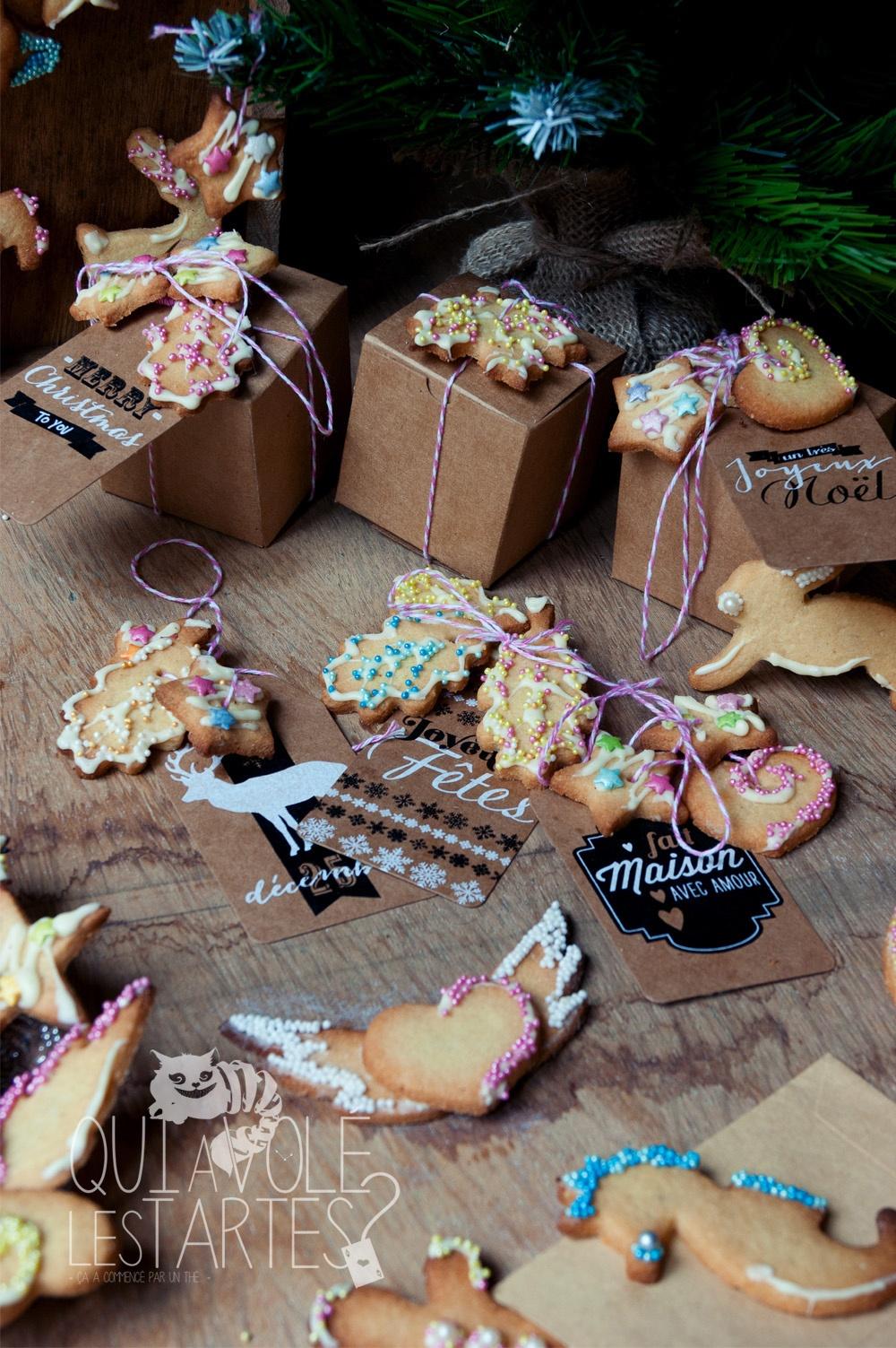 Cadeaux gourmands & couronne de Noel 2 - Studio 2 création - Qui a volé les tartes