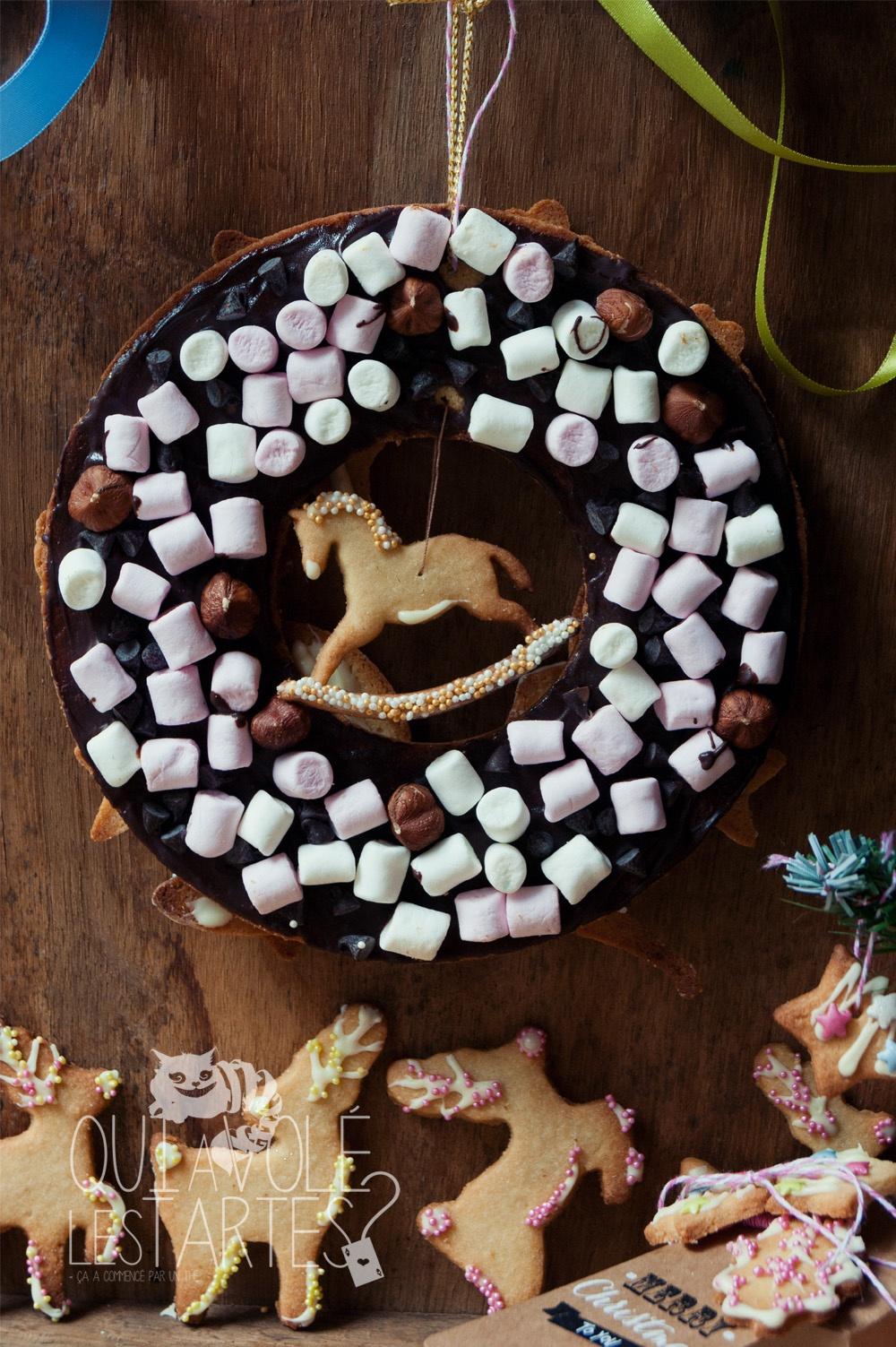 Cadeaux gourmands & couronne de Noel 7 - Studio 2 création - Qui a volé les tartes