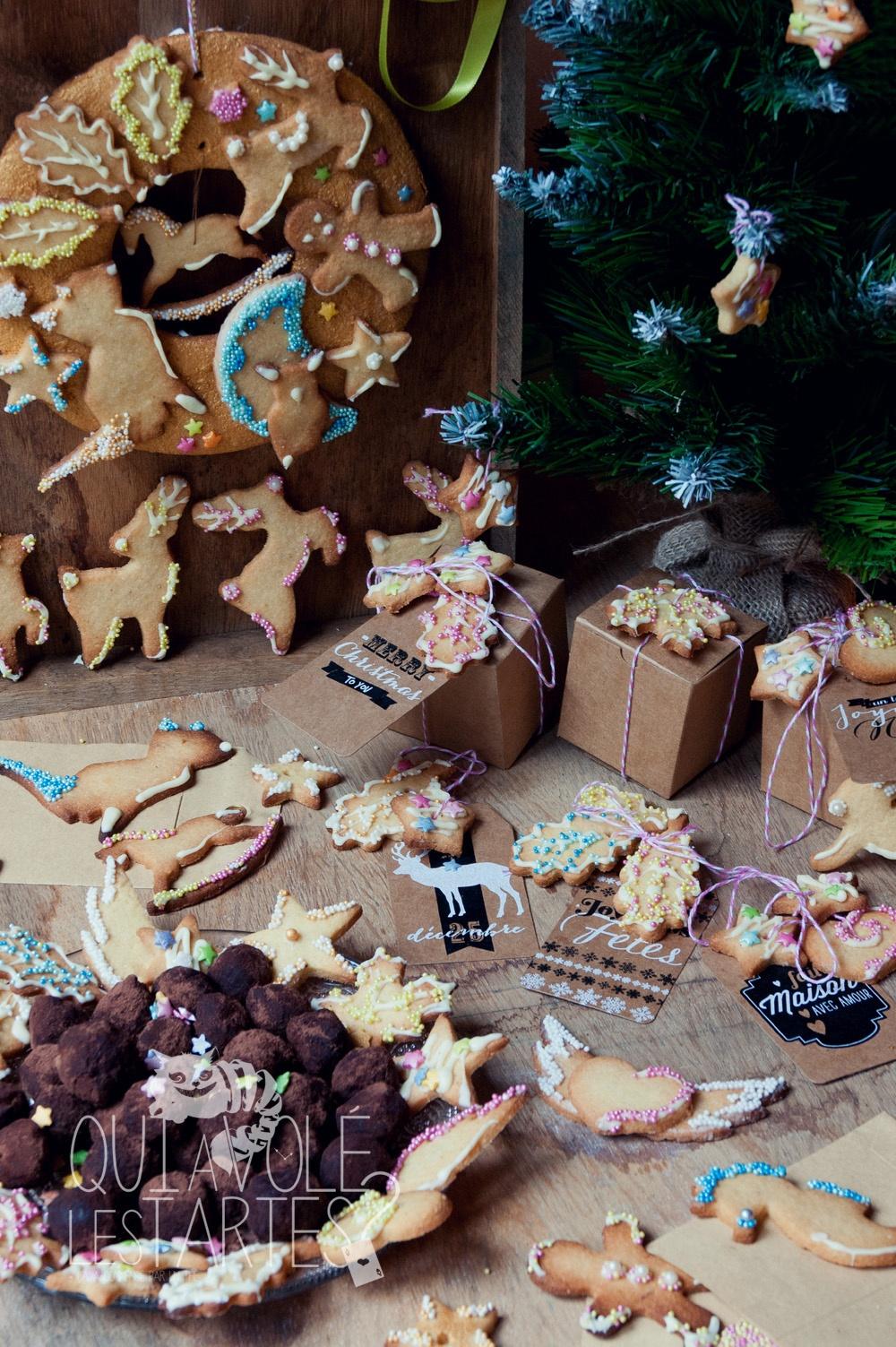Cadeaux gourmands & couronne de Noel 9 - Studio 2 création - Qui a volé les tartes