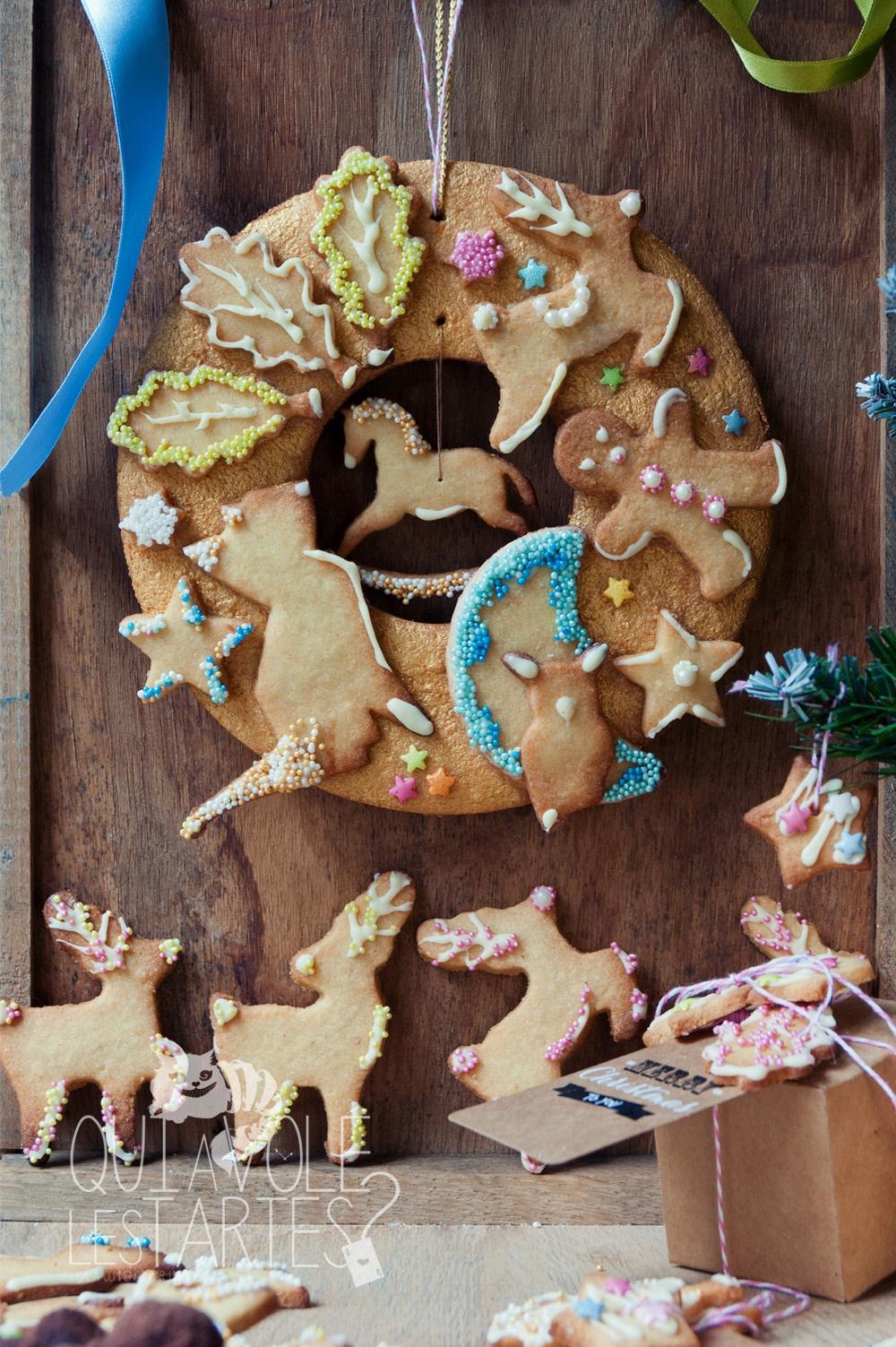 Cadeaux gourmands & couronne de Noel - Studio 2 création - Qui a volé les tartes