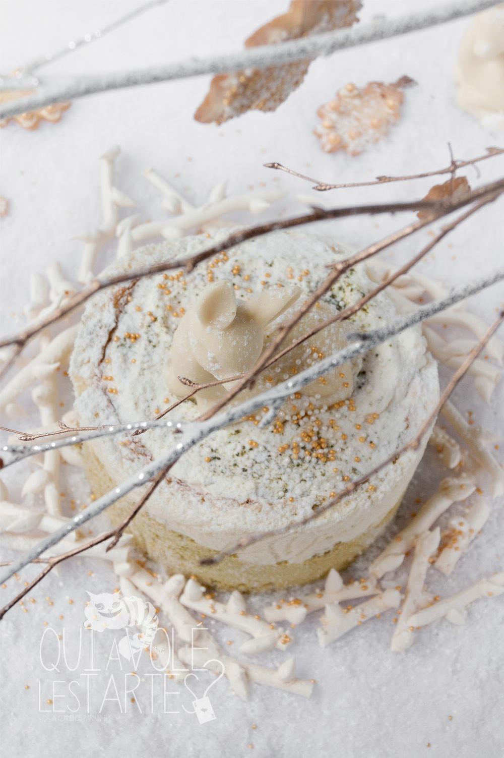 Nara 2 - charlotte sans gluten MatchaYuzu - Studio 2 créaion - Qui a volé les tartes