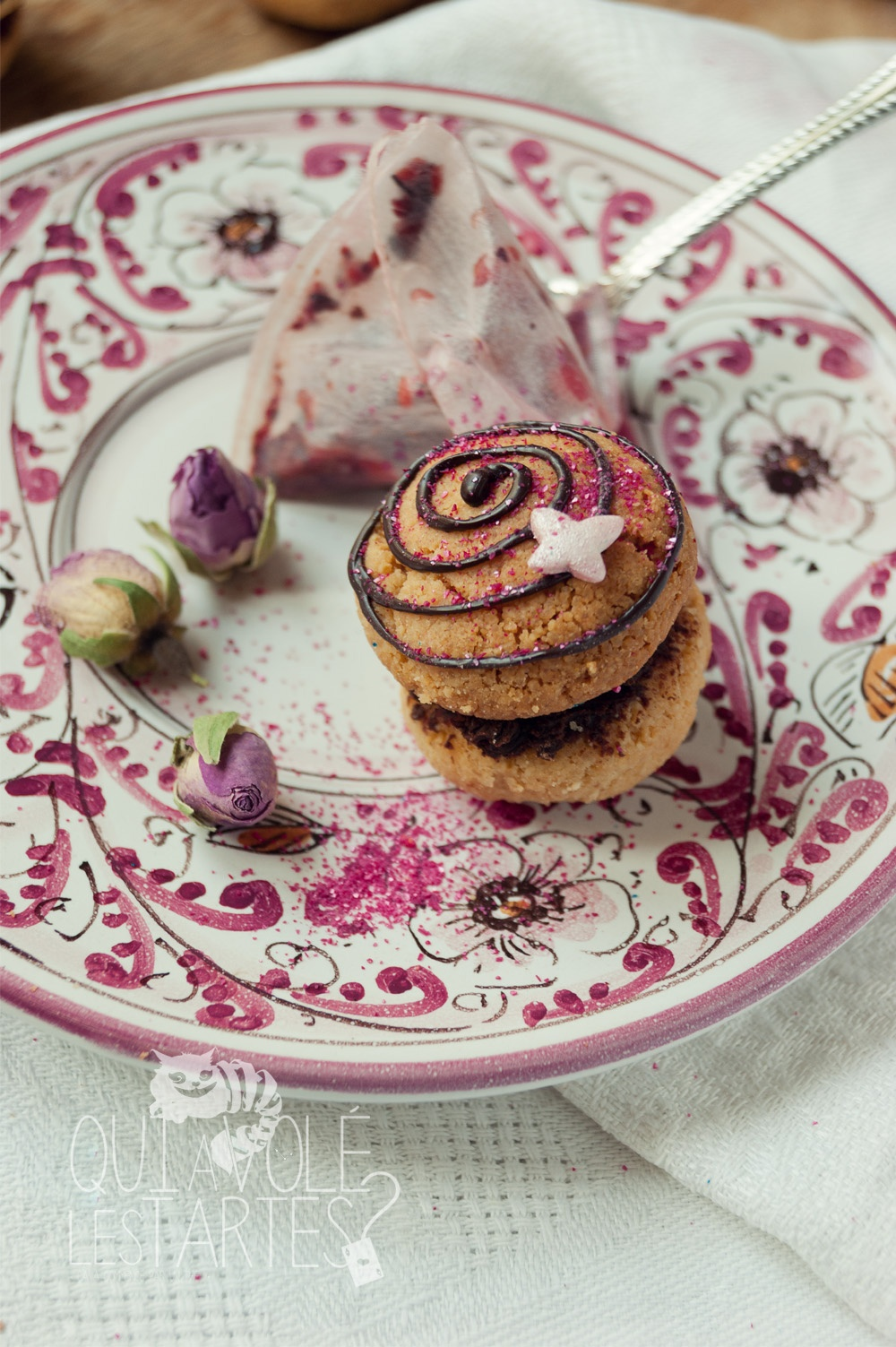 Baci di dama sans gluten - Studio de création - Qui a volé les tartes