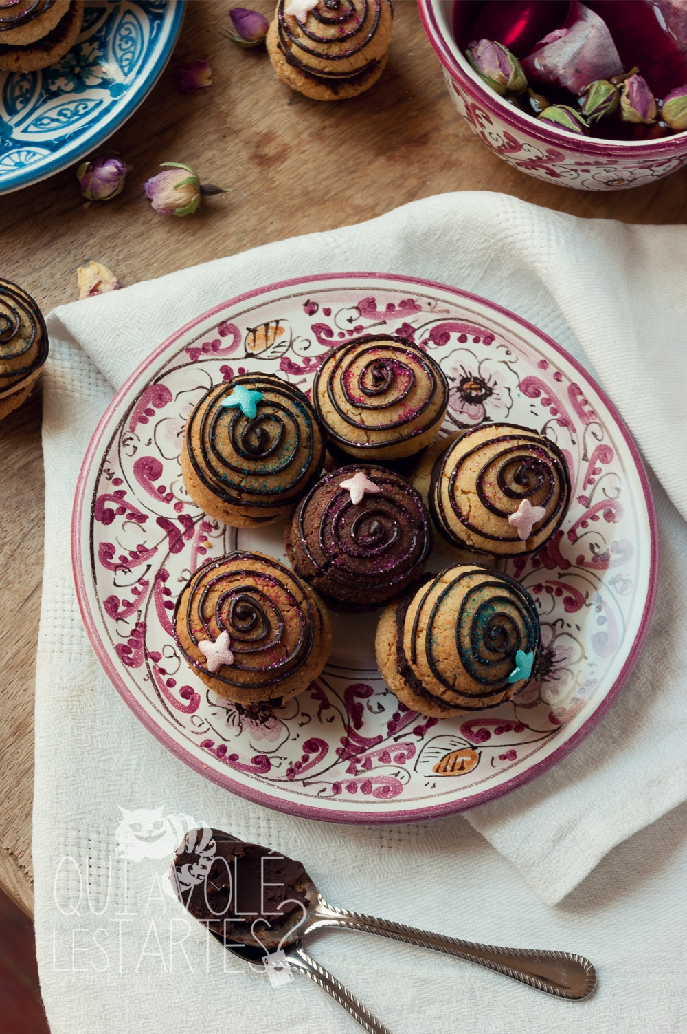 Baci di dama - Studio de création - Qui a volé les tartes