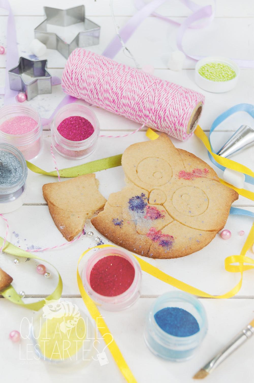 Gâteaux sucettes - Sablé à colorier 2 - Studio de création - Qui a volé les tartes