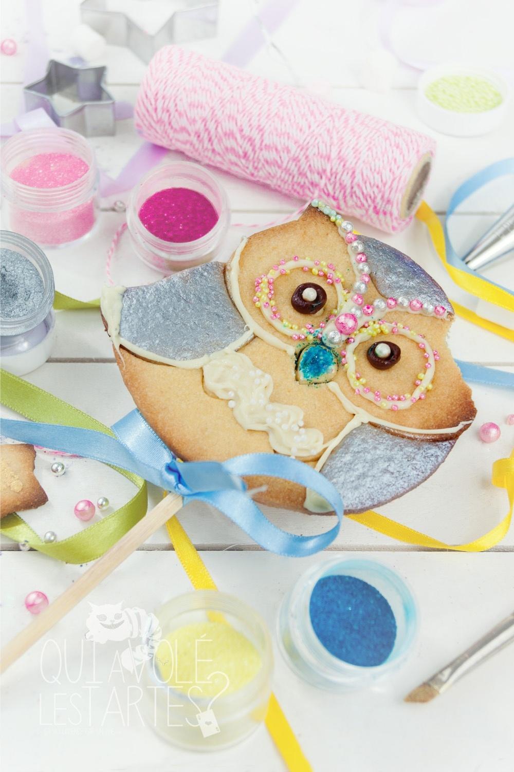 Gâteaux sucettes - Sablé à colorier 3 - Studio de création - Qui a volé les tartes