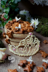Galette de Brocéliande ©Photographie et stylisme culinaire Qui a volé les tartes ?