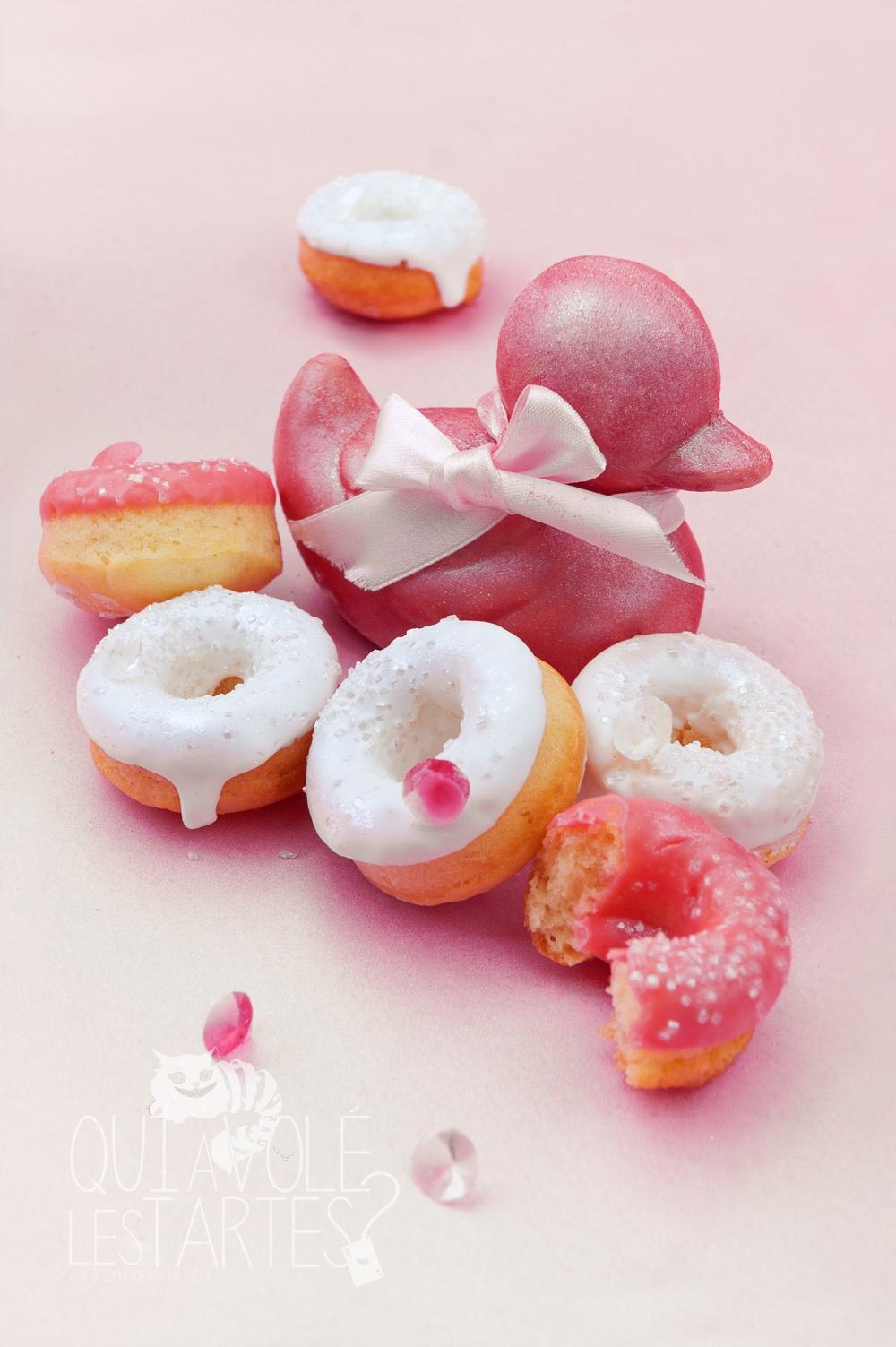 Donuts sans gluten St Valentin 2 - Studio de création - Qui a volé les tartes
