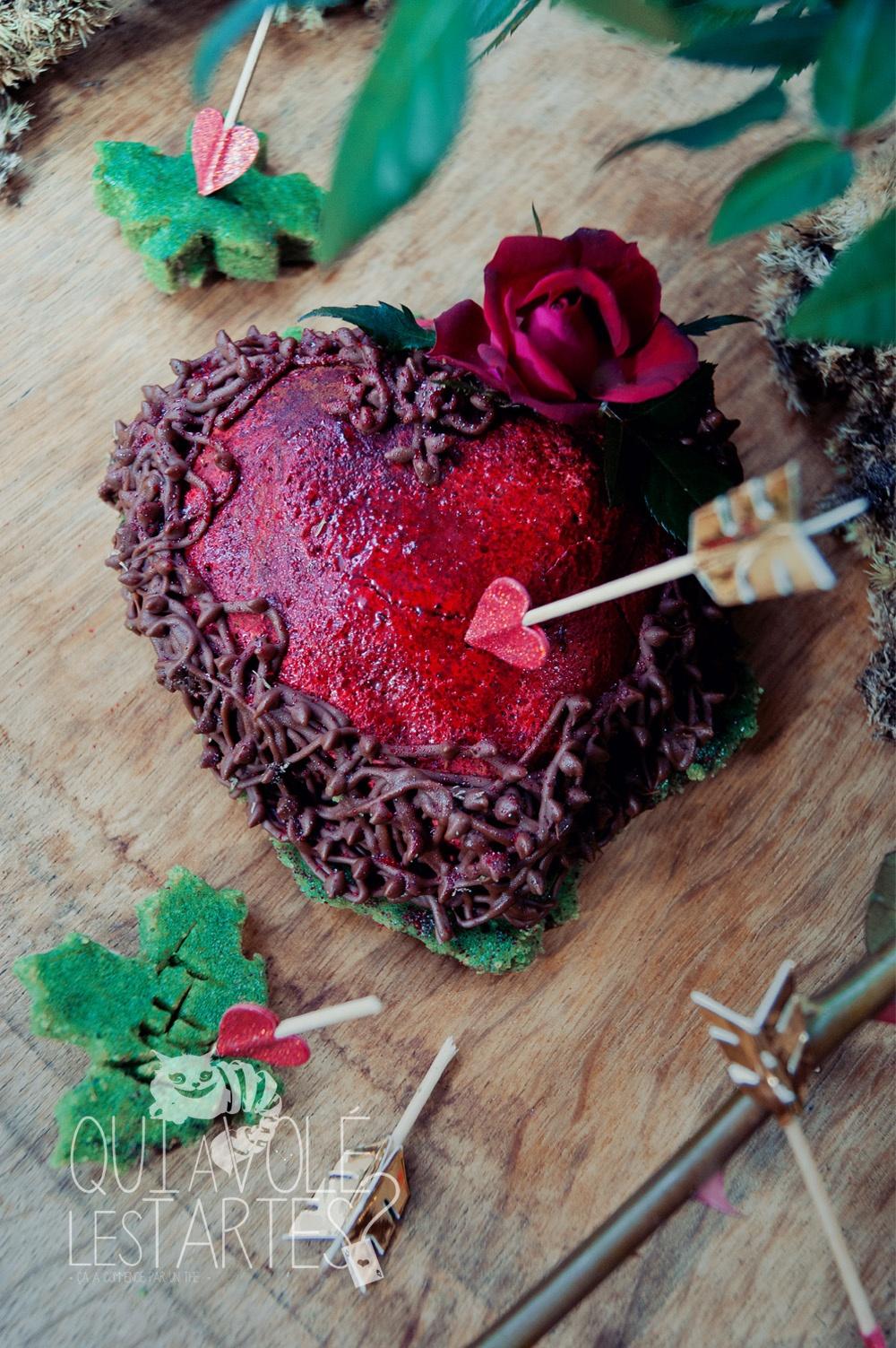 L'arrache coeur 1  - Marquise au chocolat - Studio de création - Qui a volé les tartes