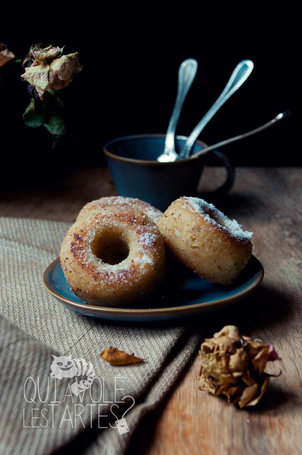 Peine perdue - Donuts façon pain perdu - Studio de création - Qui a volé les tartes