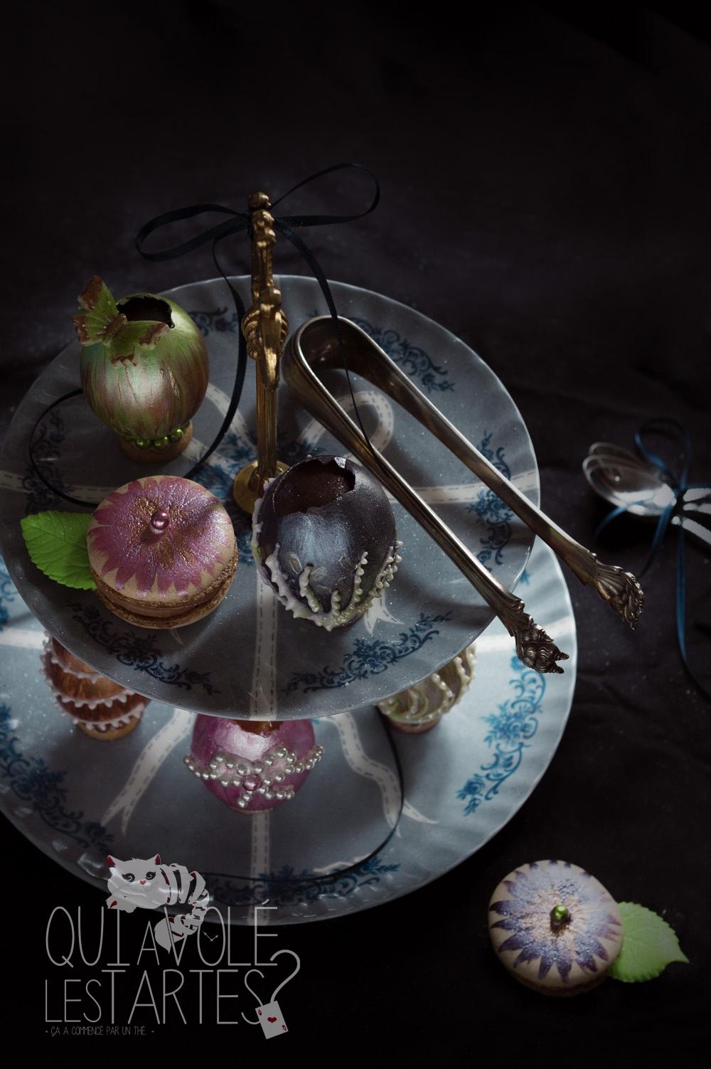 Oeufs façon Fabergé 1 - Studio 2 création - Qui a volé les tartes