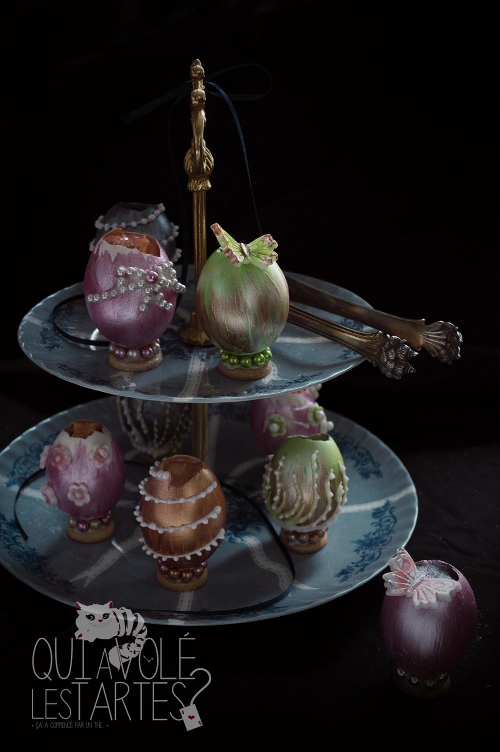 Oeufs façon Fabergé 3 - Studio 2 création - Qui a volé les tartes