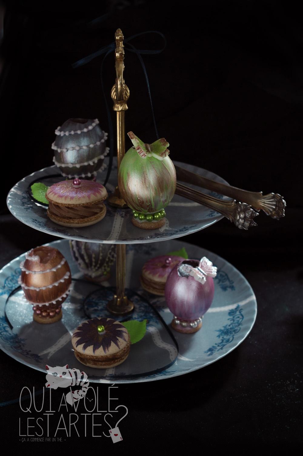 Oeufs façon Fabergé 4 - Studio 2 création - Qui a volé les tartes