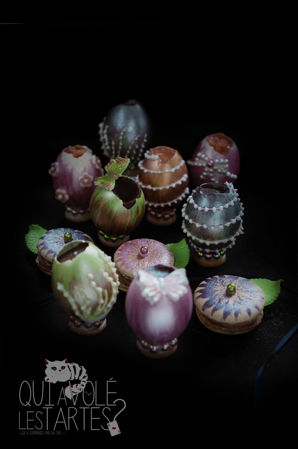 Oeufs façon Fabergé 6 - Studio 2 création - Qui a volé les tartes
