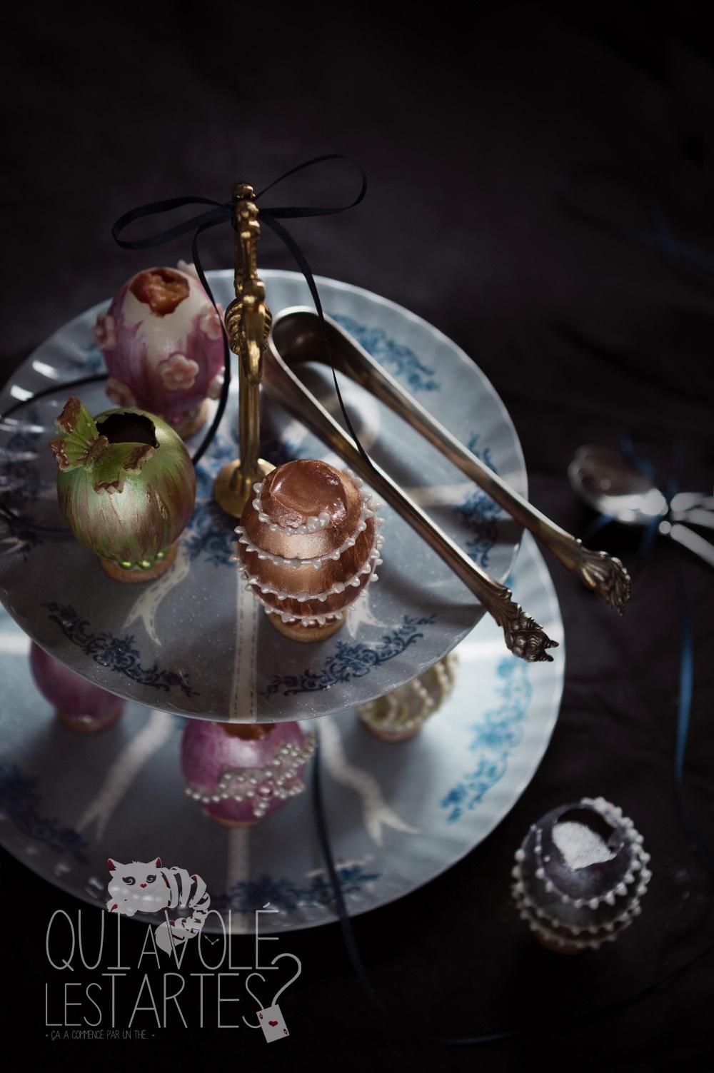 Oeufs façon Fabergé - Studio 2 création - Qui a volé les tartes