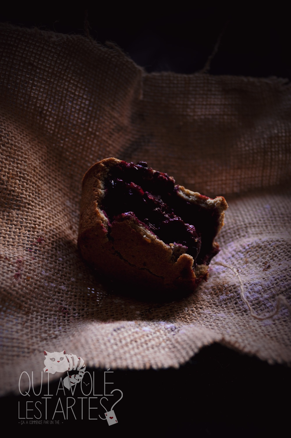 Tourtes à l'ancienne sans gluten 1 - Studio de création - Qui a volé les tartes- Copyright