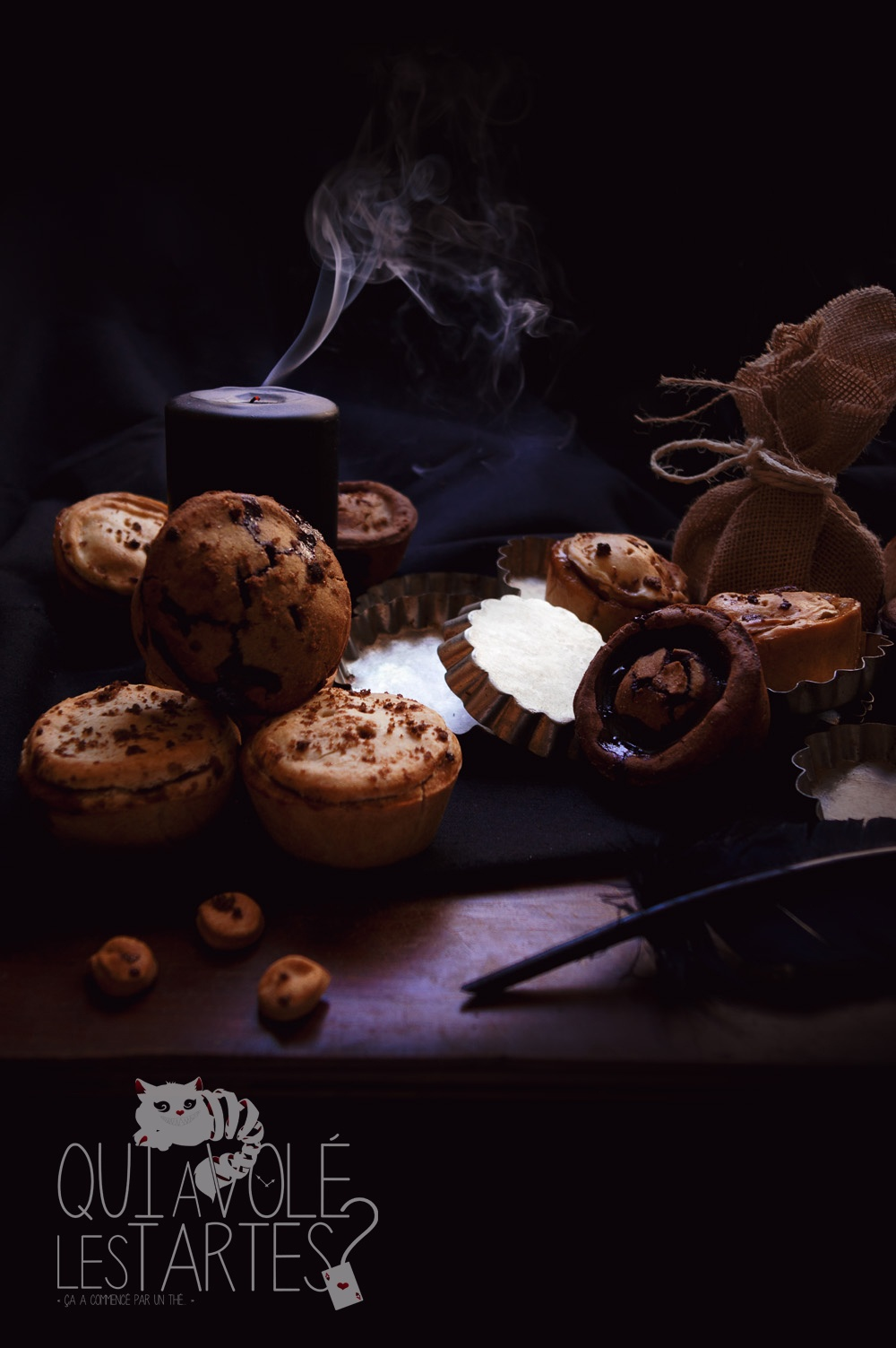 Tourtes à l'ancienne sans gluten - Studio de création - Qui a volé les tartes- Copyright