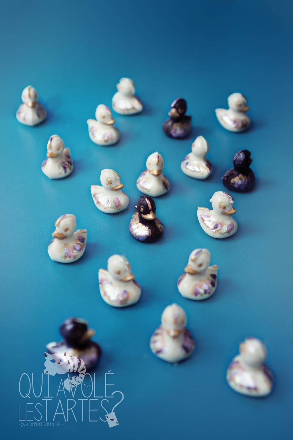 La Mare aux canards 3 - entremet citron praliné - Studio de création - Qui a volé les tartes