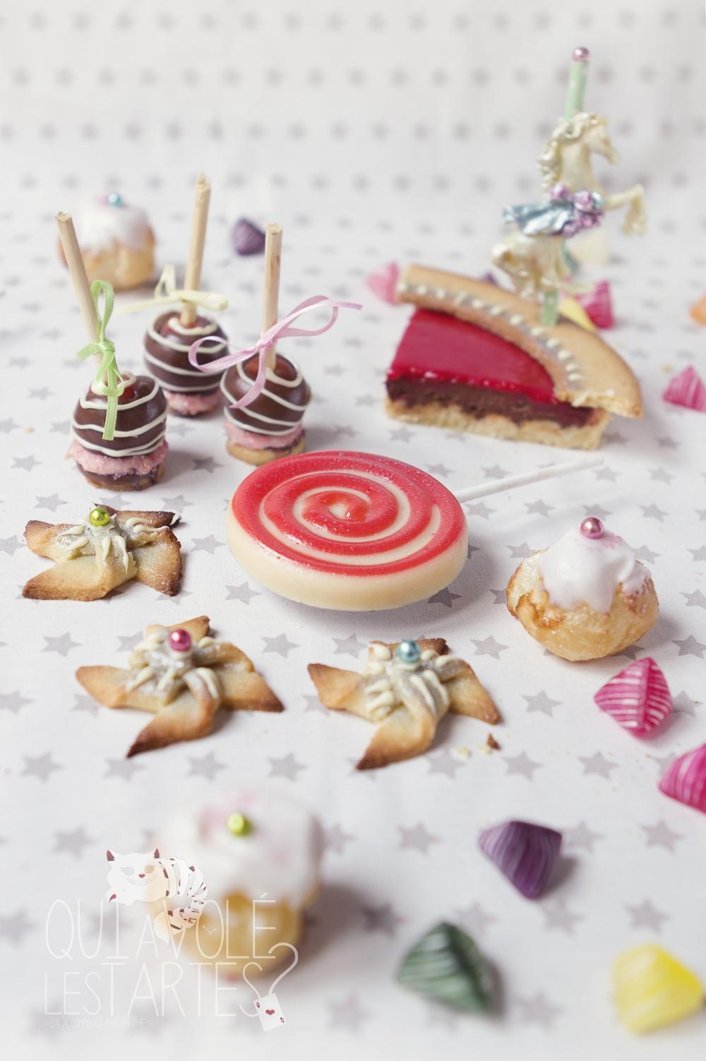 Tarte Carrousel & Fête foraine 5 - Studio de création - Qui a volé les tartes
