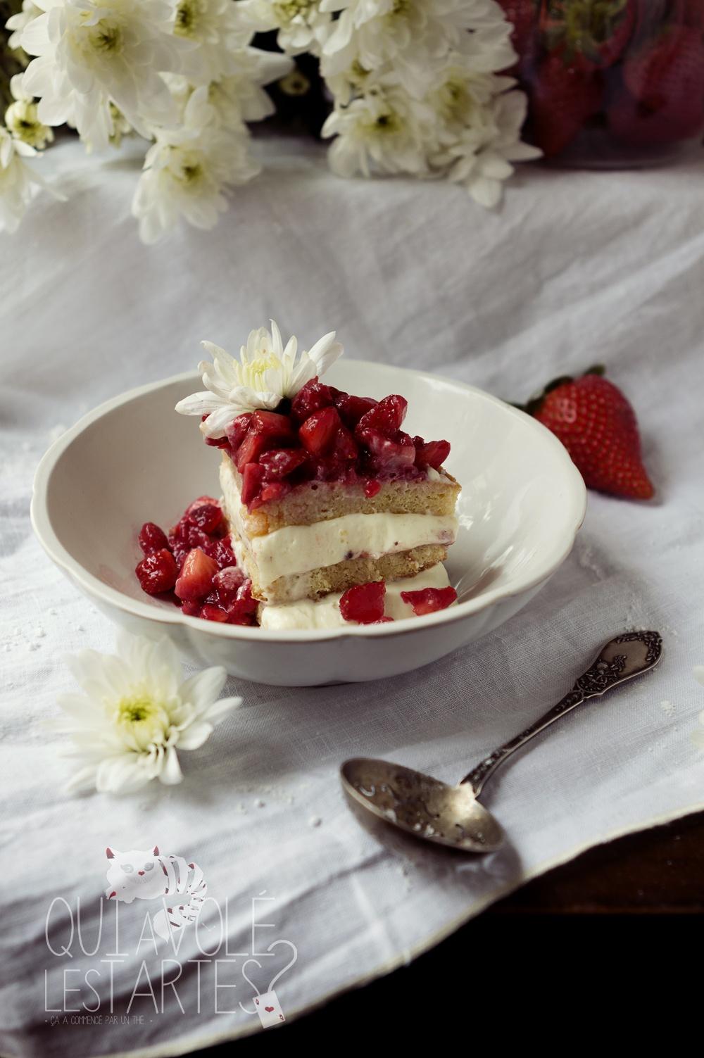 Victoria Sponge Cake sans gluten 2 - Studio de création - Qui a volé les tartes