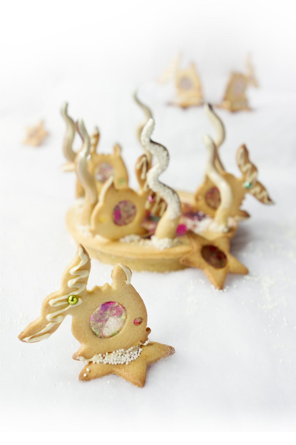 Sous l'océan - Tarte à la vanille - Studio de création - Qui a vole les tartes