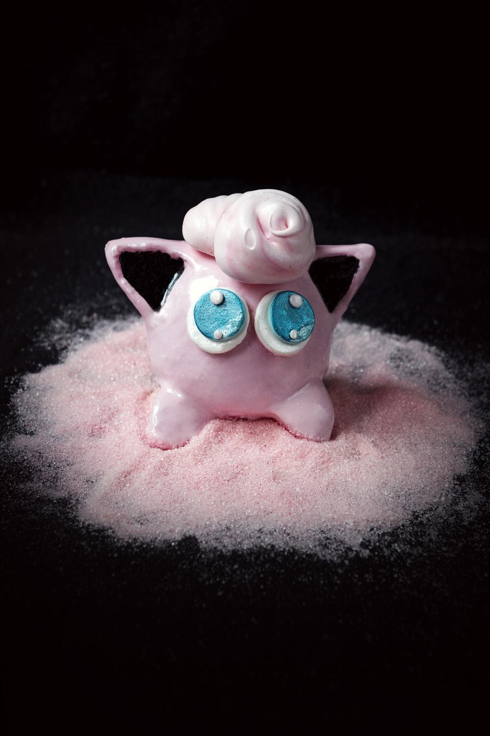 Rondoudou ou Jigglypuff - Pokemon Cake - Studio de création - Qui a vole les tartes
