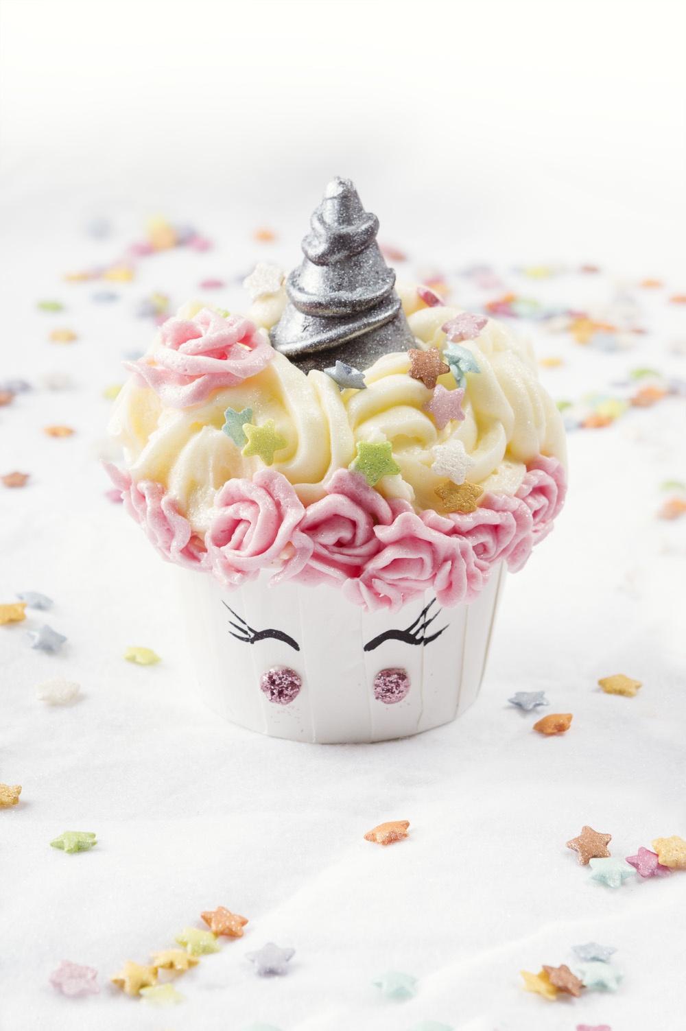 Champicorne cupcake - Studio de creation - Qui a vole les tartes