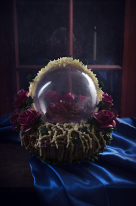 La rose enchantée - Beauty and the beast, quatre-quarts au miel, crème au beurre chocolat ©Photographie et stylisme culinaire Qui a volé les tartes ?