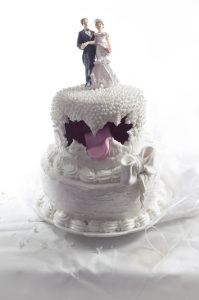 Screaming Cake - Wedding cake  ©Photographie et stylisme culinaire Qui a volé les tartes ?