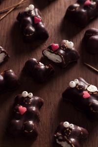 Les oursons guimauves revisités  ©Photographie et stylisme culinaire Qui a volé les tartes ?