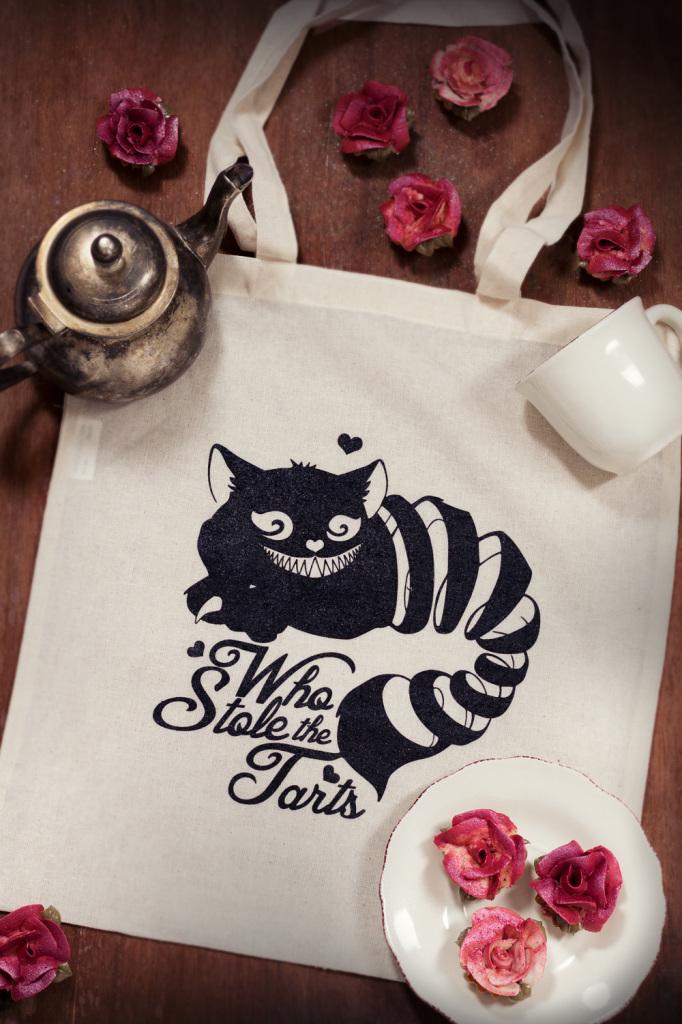 Goodies Tote Bag - studio de creation - qui a vole les tartes