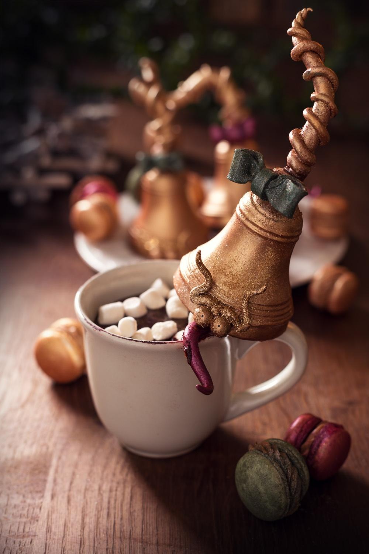 Les beuglantes - cloches en marshamallows & chocolat 1- Studio de creation - Qui a vole les tartes