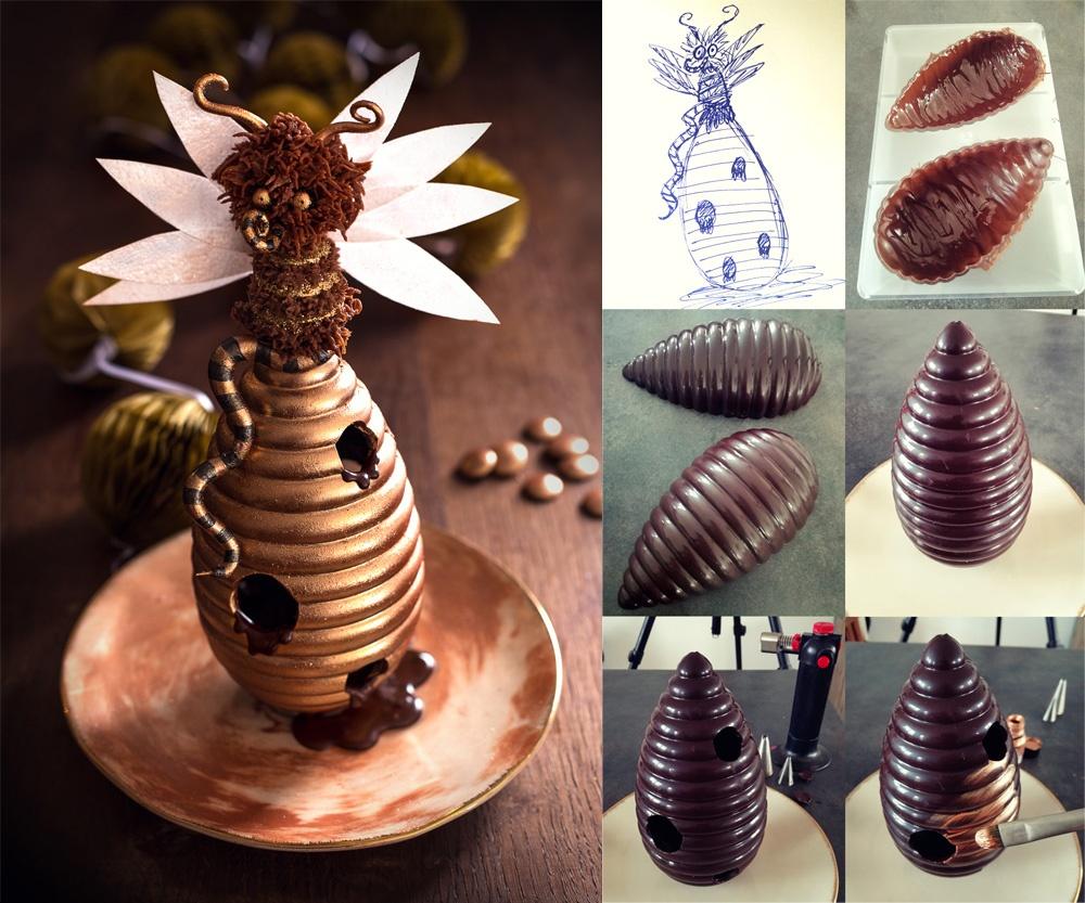 La reine des abeilles montage1 - Studio de creation - Qui a vole les tartes
