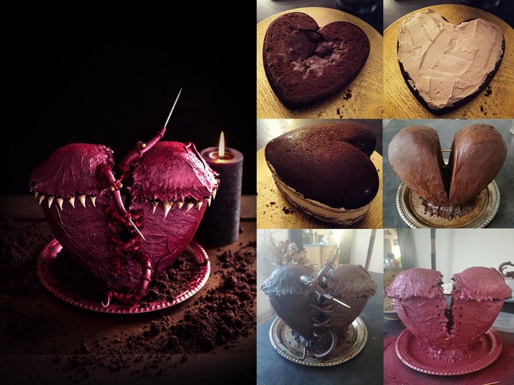 Les vers de coeur montage1 - Studio de creation - Qui a vole les tartes