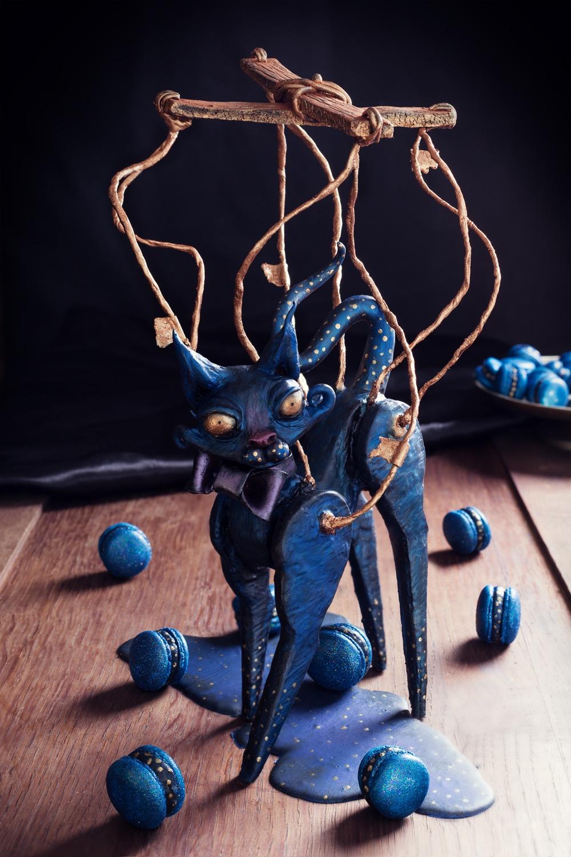 Le chat marionnette - lepine deglantine - Qui a vole les tartes