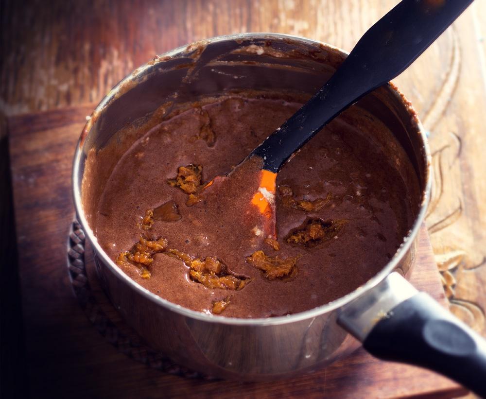 Mousse praliné & chocolat 3 - qui a vole les tartes