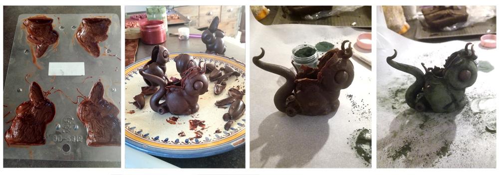 Montage bouchees frankensteinesques - Studio de creation - Qui a vole les tartes