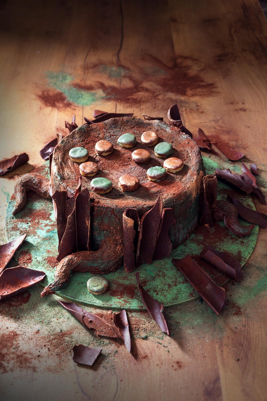 Le tronc et le jeu de dames - studio de creation - Qui a vole les tartes