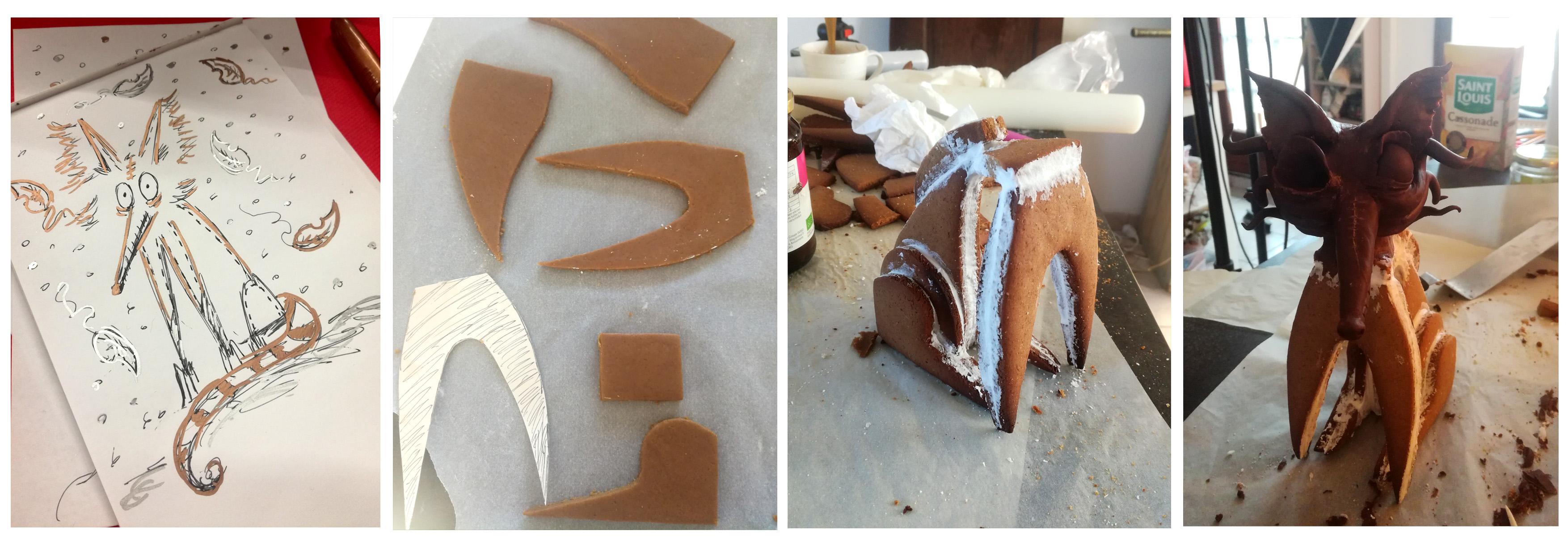 Montage le renard destroy - Studio de creation - Qui a vole les tartes