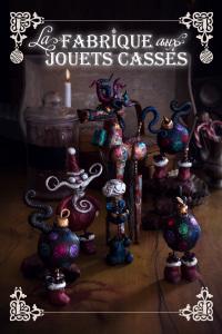 la fabrique à jouets casses - This is a chocolate christmas story  ©Photographie et stylisme culinaire Qui a volé les tartes ?