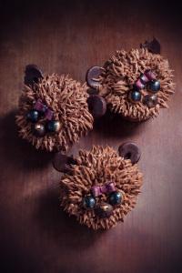 Les oursons de Caumes - fondant et crème au beurre chocolat  ©Photographie et stylisme culinaire Qui a volé les tartes ?