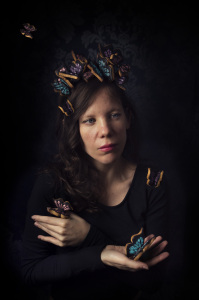 Lady Butterfly - La princesse aux papillons ©Photographie et stylisme culinaire Qui a volé les tartes ?